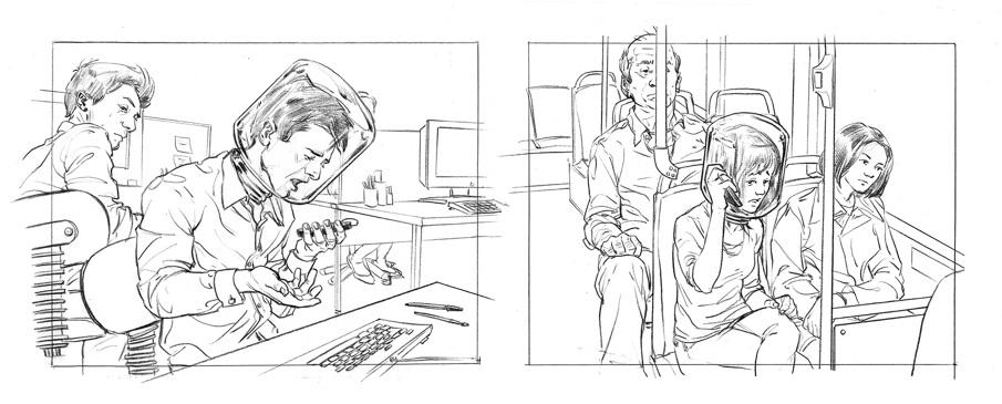 Storyboard sample 1 Rupert Smissen Illustration – Storyboard Sample